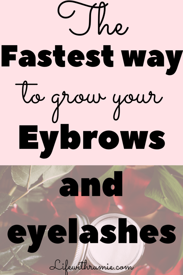 How to grow longer lashes in 3 days naturally