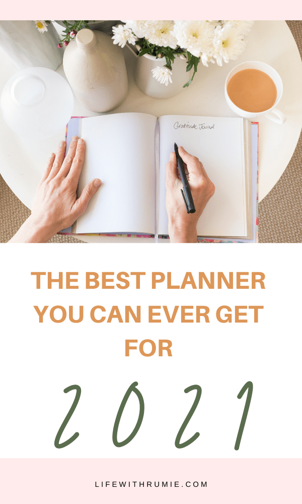 the best planner for 2021