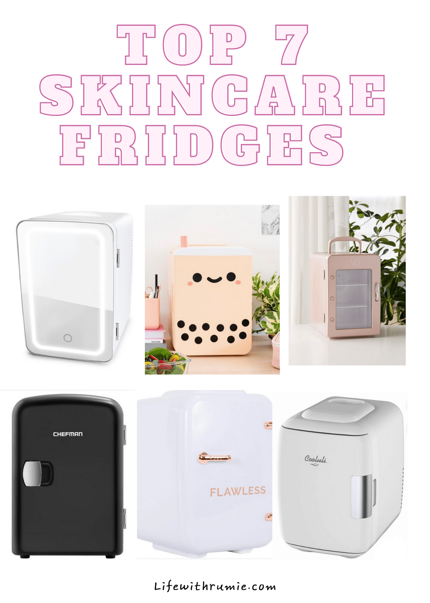 cheap skincare fridges to buy