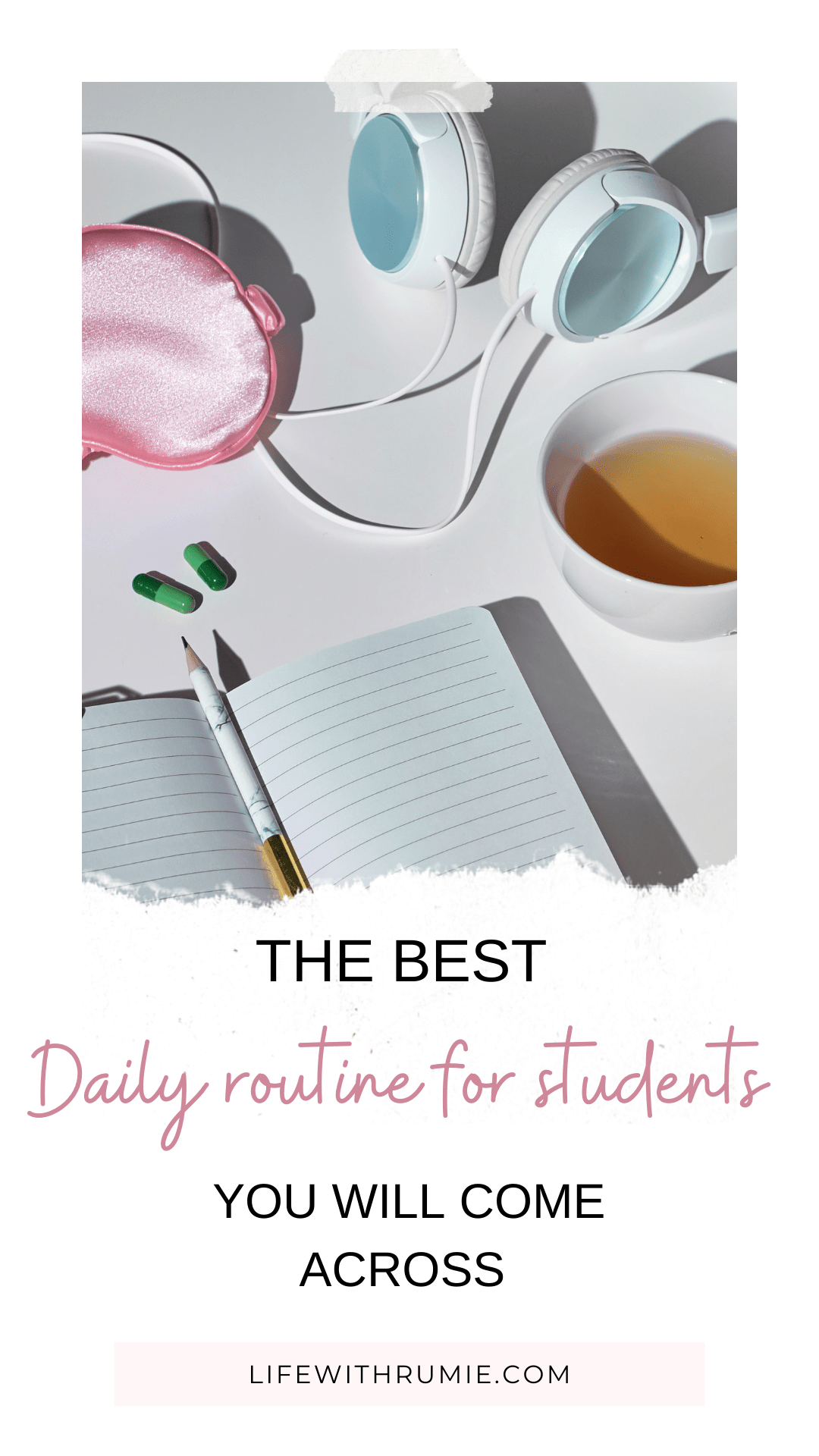 daily college student routine